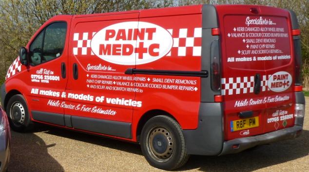 The Paint Medic Van